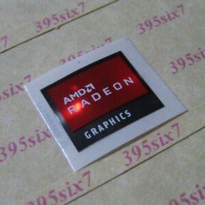 AMD RADEON GRAPHICS STICKER 16.5mm x 19.5mm - 2020 Version
