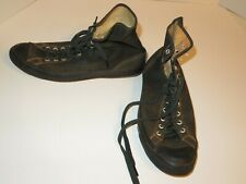 Vintage 1950's-1960's Converse High Top Canvas Chuck Taylor Athletic Shoes