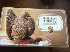 WILLIAMS-SONOMA TURKEY THANKSGIVING CAKE PAN / NORDICWARE / NWT / DISCONTINUED