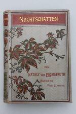 Nataly von Eschstruth - Nachtschatten.Mit Illustrationen v. Wilh.Claudius.
