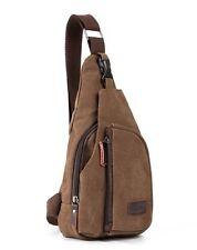 Lässige Canvas-Umhängetasche | Schultertasche | Crossbody Bag | Messenger Bag