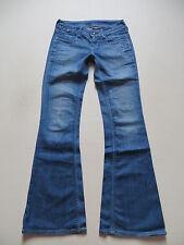 Levi's® 479 Booty Flare Schlag Jeans Hose W 27 /L 34 Kleingeldtasche mit Knopf !