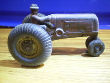 Vintage Arcade Oliver 70 Cast Iron Tractor With Driver, 1940's, Original