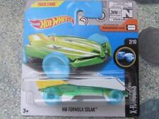 HOT WHEELS 2017 #227/365 HW FORMULA SOLAR Verde/Giallo X-Racers