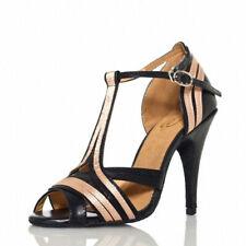 Ballroom Tango&Salsa Latin Dance Shoes for Women Girls Ladies Indoor high heels