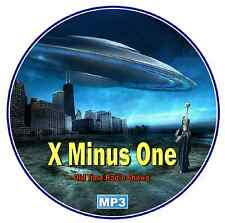 X Minus One -132 Episodes - Complete Run - Old Time Radio Shows Mp3 DVD