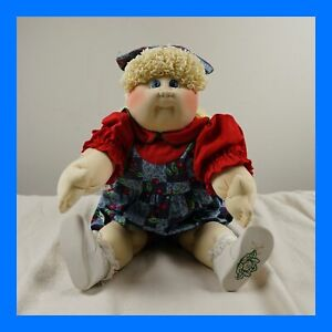 """CABBAGE PATCH KIDS DOLL #2 1993 UNICOI EDITION, 22"""" SOFT SCULPTURE Little People"""