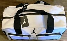 Very Rare Air Jordan All World Duffel Gym Travel Bag Jumpman 23 WHITE Colorway