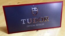 TUDOR Display Watch Window 'OFFICIAL RETAILER' Monte Carlo Submariner Fastrider