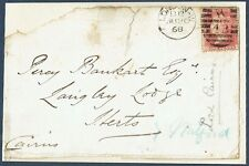 Hugh Cairn, 1st Earl Cairns, Lord Chancellor 1868 Autographed Front