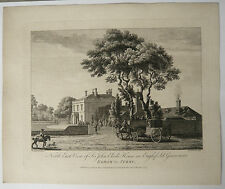 Gravure Ancienne XVIIIe MICHAEL ANGELO ROOKER 1775 SANDBY John Elvil Egham Surry