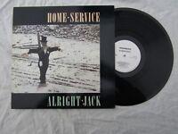 HOME SERVICE LP ALRIGHT JACK hcm 001 brilliant lp .......33rpm / rock