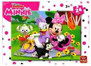 Childrens 24 Piece Disney Junior Jigsaw Puzzle Minnie Mouse & Daisy Duck 05248A