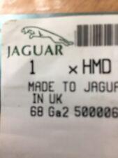Jaguar UK Vaden Plas 2 Front Door Sill Scuff Plate OEM Trim Covers New Unopened