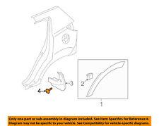 KIA OEM 12-18 Sportage Exterior-Mud Guard Screw 1249306257E