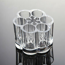 NEW! MAKEUP/BRUSH FLOWER-SHAPED ORGANIZER - ACRYLIC COSMETIC DISPLAY STAND