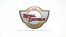Royal Enfield PVC Autocollant marron clair/noir/rouge Intercepteur, Bullet GT