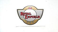 Royal Enfield PVC Aufkleber hellbraun/schwarz/rot Interceptor, Bullet GT