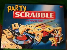 Party Scrabble from Mattel 2004. Complete, VGC  great game ..