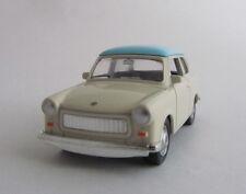 Welly Trabant 601 / Hellblau/Beige / Druckgussmodel / Nex Models / 1:60 /OVP/Neu