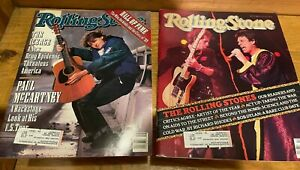 Rolling Stone Magazines Issue 571 573 Stones McCartney Young Dylan Bowie Beatles