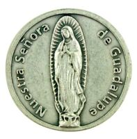 Nuestra Senora de Guadalupe Our Lady Pocket Token with Spanish Prayer
