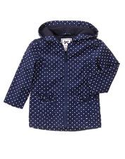 Gymboree WILDFLOWER WEEKEND navy dot twill jacket size 3 3T NWT
