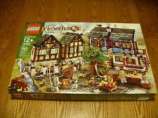 Lego Castle set #10193  Medieval Market Village 1601 Pieces! NEW & Sealed