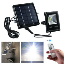 Solar LED Light Sensor Flood Spot Lamp Garden Lawn Outdoor Security Waterproof