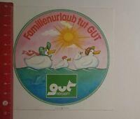 Aufkleber/Sticker: Familienurlaub tut gut Reisen (051216145)