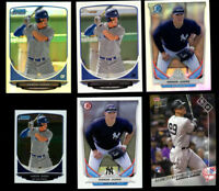 2013 Bowman Chrome Aaron Judge Rookie Refractor Mini Base 2014 2017 Yankees PICK
