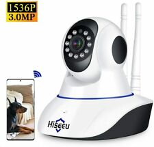 Security Camera Wifi IP Camera,Night Vision Motion Detection 2-Way Audio