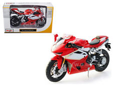2012 MV AGUSTA F4RR BIKE RED 1/12 DIECAST MOTORCYCLE MODEL MAISTO 11098