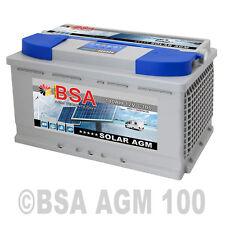 Solarbatterie 100AH 12V GEL AGM Batterie Solar Batterie Versorgungsbatterie