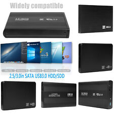 2.5/3.5 in USB 3.0 SATA SDD/HDD Hard Drive External Mobile Disk Box Adapter Case
