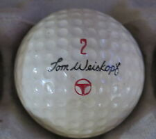 (1) TOM WEISKOPF SIGNATURE LOGO GOLF BALL ( MACGREGOR CIR 1967 / 1968) #2