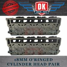 Ford Powerstroke 6.0L - New O'Ring Cylinder Heads (2) Complete with Valve Train