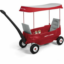 Radio Flyer 2805A Deluxe All-Terrain Pathfinder Ride On  Wagon - Red