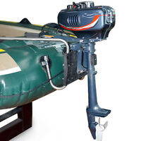 Boat Engine 2-Stroke 3.5HP Outboard Motor CDI system 2.5kw Fishing Boat Engine