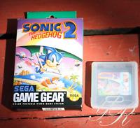 Sonic the Hedgehog 1 &  2 Super Columns Sega Game Gear one in Box LOT of GAMES