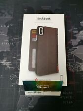 Brown Twelve South BookBook iPhone X 64GB 256GB leather vintage book case cover