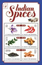 Saint Vincent 2011 - INDIPEX - Spices Of India - Sheet of 6 Stamps - MNH