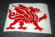 Welsh Dragon Car Sticker