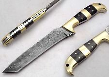 "9.25"" Custom Manufactured Beautiful Damascus chef kitchen Knife (AA-0026-4)"