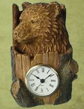 Lodge Cabin Decorative Bear Clock (Limited Edition) ( 40% Off Sale! )