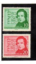 Alemania DDR Musica Chumann serie del año 1956 (AW-411)
