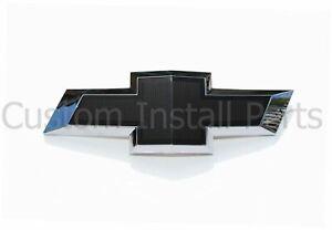 Black Emblem Matte Bowtie Rear Trunk Badge Replaces 22761890 Fits Chevy Camaro