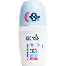 Bionsen Caring Touch Roll On Deodorant 50ml, Paraben/Aluminium Free Floral Scent
