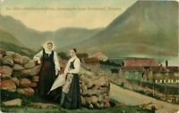 Postcard Guldbrandsdalen, Lemseggen from Stromstad, Norway A26