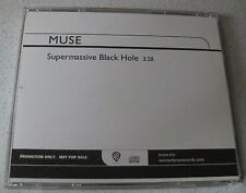 MUSE - Supermassive Black Hole *MaxiCD* 1-Track US Radio CD